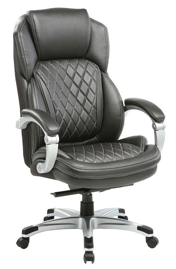 Кресло руководителя БЮРОКРАТ T-9915, на колесиках, рециклированная кожа/кожзам [t-9915/black]
