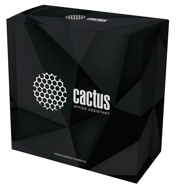 Пластик для принтера 3D Cactus CS-3D-PLA-750-WHITE PLA d1.75мм 0.75кг 1цв.