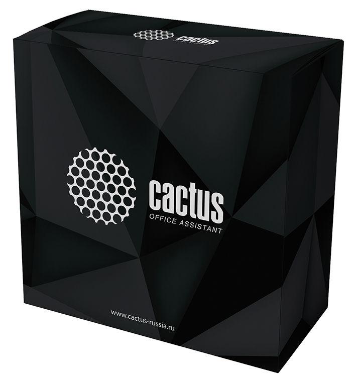 Пластик для принтера 3D Cactus CS-3D-PLA-750-RED PLA d1.75мм 0.75кг 1цв.