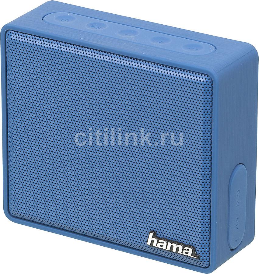 Портативная колонка HAMA Pocket,  3Вт, синий  [00173121]