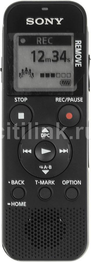 Диктофон SONY ICD-PX470 4 Gb,  черный [icdpx470.ce7]