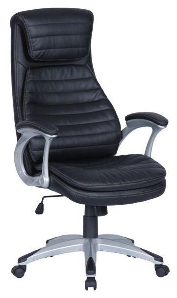 Кресло руководителя БЮРОКРАТ T-9902, на колесиках, искусственная кожа [t-9902/black]