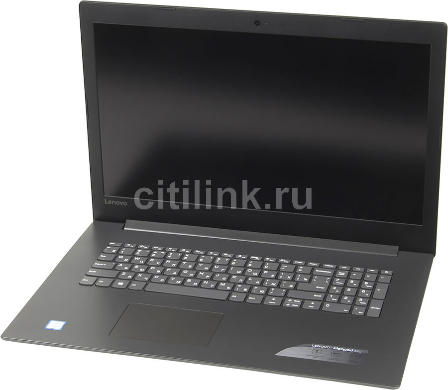 "Ноутбук LENOVO IdeaPad 320-17IKB, 17.3"", Intel  Core i3  7100U 2.4ГГц, 8Гб, 1000Гб, Intel HD Graphics  620, Windows 10, 80XM00BGRK,  черный"
