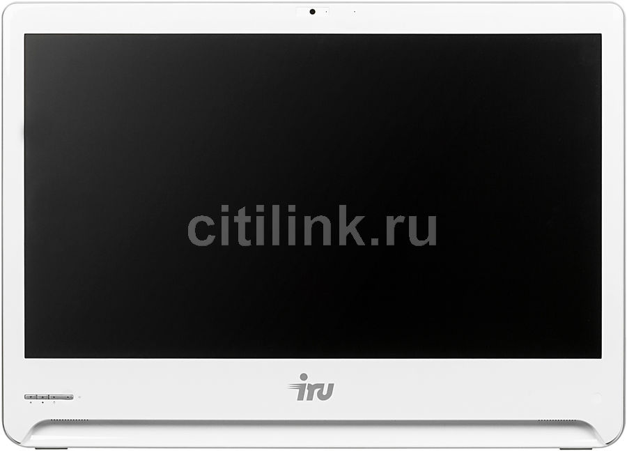 Моноблок IRU Office S2301, Intel Core i5 5200U, 8Гб, 1Тб, Intel HD Graphics 5500, DVD-RW, Windows 10 Professional, белый [481556]