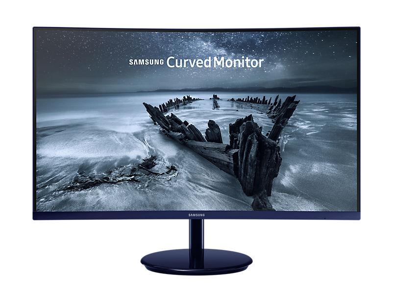 "Монитор SAMSUNG C27H580FDI 27"", темно-синий [lc27h580fdixci]"