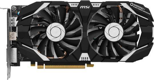 Видеокарта MSI nVidia  GeForce GTX 1060 ,  GTX 1060 3GT,  3Гб, GDDR5, Ret