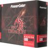 Видеокарта PowerColor PCI-E AXRX 560 2GBD5-DHV3/OC AMD RX560 2048Mb 128b GDDR5 1180/7000 DVIx1/(Б/У) вид 7