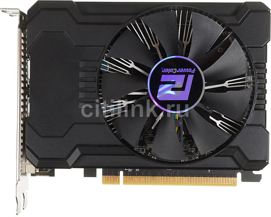 Видеокарта PowerColor PCI-E AXRX 560 2GBD5-DHV3/OC AMD RX560 2048Mb 128b GDDR5 1180/7000 DVIx1/(Б/У)