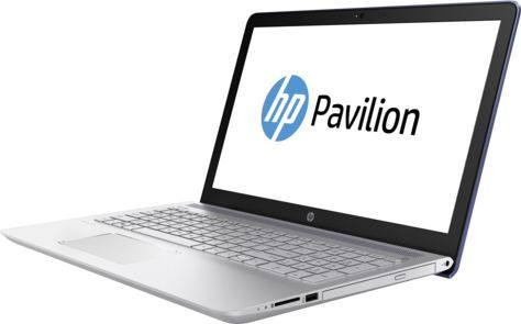 Ноутбук HP Pavilion 15-cc006ur, 15.6, Intel Core i3 7100U 2.4ГГц, 6Гб, 1000Гб, Intel HD Graphics 620, DVD-RW, Windows 10, голубой [1za90ea]