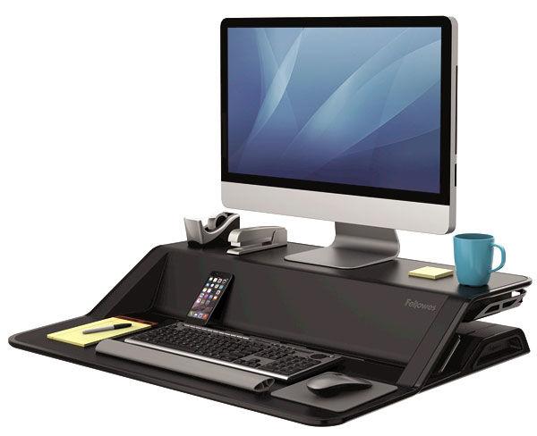 Подставка FELLOWES Lotus Sit-Stand Workstation,  для рабочего стола [fs-00079]