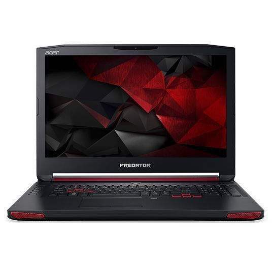 Ноутбук ACER Predator 17 G9-793-7877, 17.3, Intel Core i7 7700HQ, 2.8ГГц, 32Гб, 1000Гб, 512Гб SSD, nVidia GeForce GTX 1070 - 8192 Мб, DVD-RW, Windows 10, черный [nh.q1ter.008]Ноутбуки<br>экран: 17.3;  разрешение экрана: 1920х1080; тип матрицы: IPS; процессор: Intel Core i7 7700HQ; частота: 2.8 ГГц (3.8 ГГц, в режиме Turbo); память: 32768 Мб, DDR4; HDD: 1000 Гб; SSD: 512 Гб; nVidia GeForce GTX 1070 - 8192 Мб; DVD-RW; WiFi;  Bluetooth; HDMI; DisplayPort; WEB-камера; Windows 10<br><br>Линейка: Predator 17