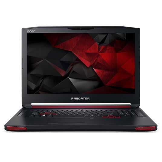 Ноутбук ACER Predator G9-793-730B, 17.3, Intel Core i7 7700HQ 2.8ГГц, 32Гб, 1000Гб, 256Гб SSD, nVidia GeForce GTX 1060 - 6144 Мб, DVD-RW, Windows 10, NH.Q1VER.004, черный ноутбук hasee 14 intel i3 3110m dvd rw nvidia geforce gt 635m intel gma hd 4000 2 g k460n
