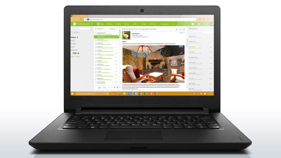 Ноутбук LENOVO IdeaPad 110-14IBR, 14, Intel Celeron N3060, 1.6ГГц, 4Гб, 500Гб, Intel HD Graphics 400, DVD-RW, Windows 10 Home, черный [80t6009erk]Ноутбуки<br>экран: 14;  разрешение экрана: 1366х768; процессор: Intel Celeron N3060; частота: 1.6 ГГц (2.48 ГГц, в режиме Turbo); память: 4096 Мб, DDR3L, 1600 МГц; HDD: 500 Гб, 5400 об/мин; Intel HD Graphics 400; DVD-RW; WiFi;  Bluetooth; HDMI; WEB-камера; Windows 10 Home<br><br>Линейка: IdeaPad