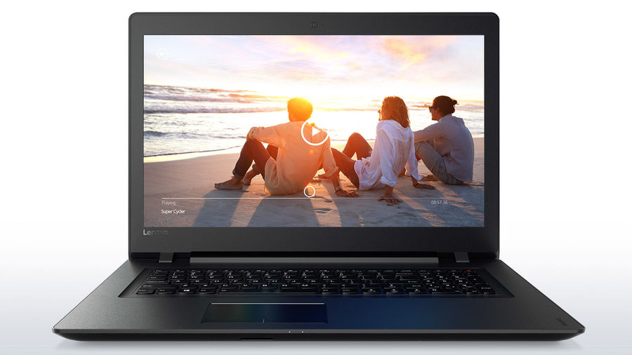 "Ноутбук LENOVO IdeaPad 110-17IKB, 17.3"", Intel  Pentium  4415U 2.3ГГц, 4Гб, 500Гб, Intel HD Graphics  610, DVD-RW, Windows 10, 80VK005BRK,  черный"