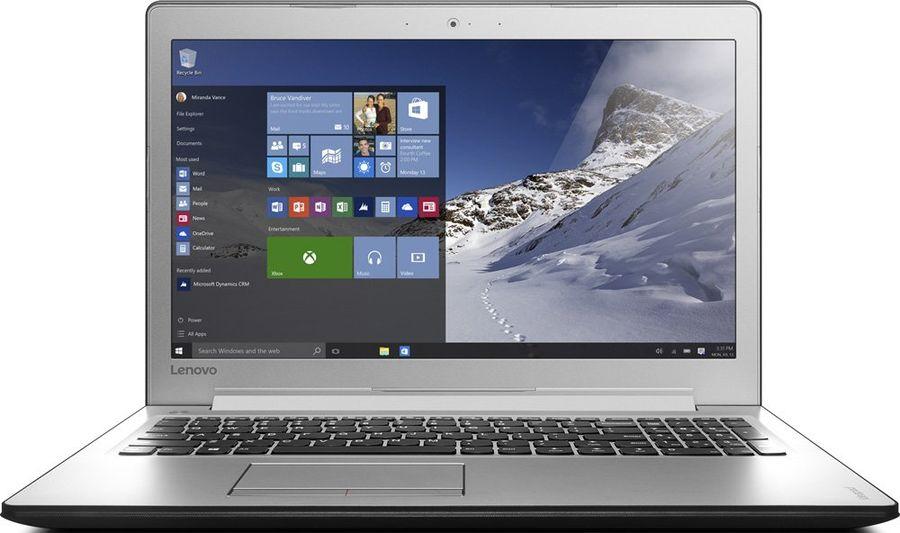 "Ноутбук LENOVO IdeaPad 510-15ISK, 15.6"", Intel  Core i3  6006U 2.0ГГц, 4Гб, 1000Гб, 128Гб SSD,  nVidia GeForce  940MX - 2048 Мб, Windows 10, 80SR00NHRK,  черный/серебристый"