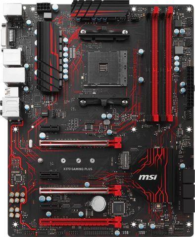Материнская плата MSI X370 GAMING PLUS, SocketAM4, AMD X370, ATX, Ret