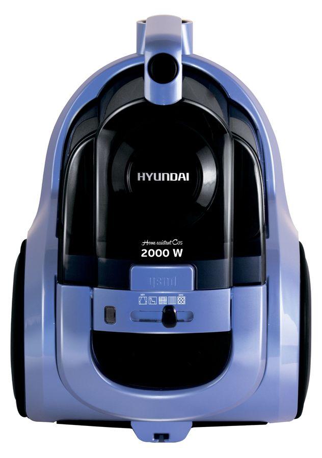 Пылесос HYUNDAI H-VCC05, 2000Вт, синий/черный
