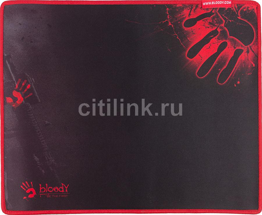 Коврик для мыши A4 Bloody B-081S,  черный/рисунок
