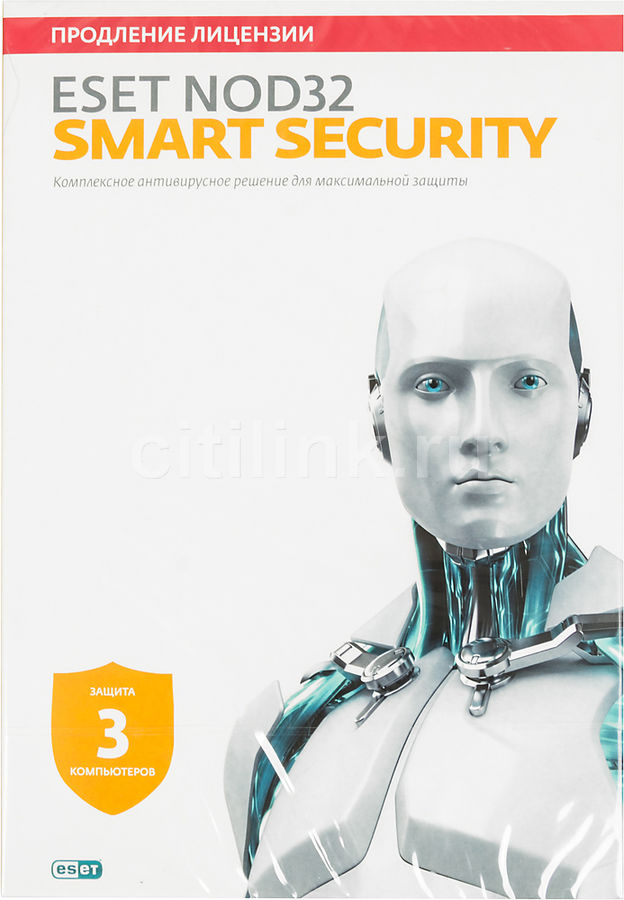 ПО Eset NOD32 Smart Security 3 ПК 1 год (NOD32-ESS-RN(BOX3)-1-1)Антивирусы<br><br>