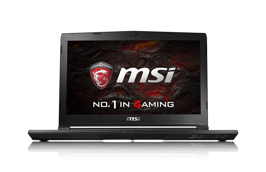 "Фотография Ноутбук MSI GS43VR 7RE(Phantom Pro)-089RU, 14"", Intel Core i7 7700HQ 2.8ГГц, 32Гб, 1000Гб, 512Гб SSD, nVidia GeForce GTX 1060 - 6144 Мб, Windows 10, черный [9s7-14a332-089]"
