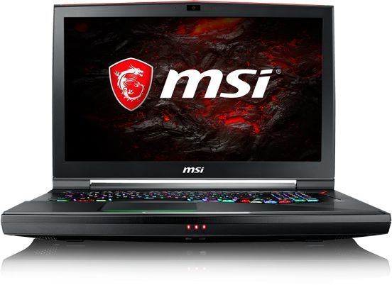 Ноутбук MSI GT75VR 7RF(Titan Pro 4K)-055RU, 17.3, Intel Core i7 7820HK 2.9ГГц, 32Гб, 1000Гб, 256Гб + 256Гб SSD, nVidia GeForce GTX 1080 - 8192 Мб, Windows 10, черный [9s7-17a211-055]Ноутбуки<br>экран: 17.3;  разрешение экрана: 3840х2160; тип матрицы: IPS; процессор: Intel Core i7 7820HK; частота: 2.9 ГГц (3.9 ГГц, в режиме Turbo); память: 32768 Мб, DDR4; HDD: 1000 Гб, 7200 об/мин; SSD: 256 Гб и 256 Гб; nVidia GeForce GTX 1080 - 8192 Мб; WiFi;  Bluetooth; HDMI; WEB-камера; Windows 10<br>