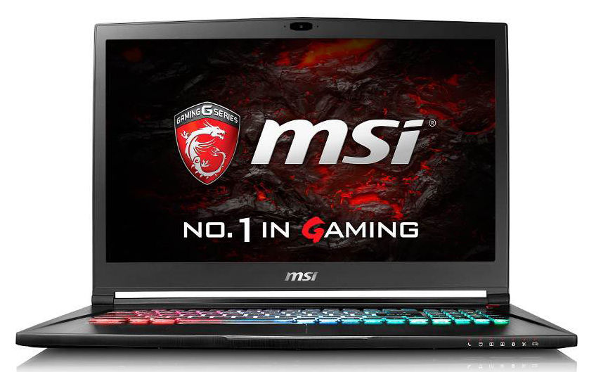 Ноутбук MSI GS73 7RE(Stealth Pro)-015RU, 17.3, Intel Core i7 7700HQ 2.8ГГц, 8Гб, 2Тб, 128Гб SSD, nVidia GeForce GTX 1050 Ti - 4096 Мб, Windows 10, 9S7-17B412-015, черный