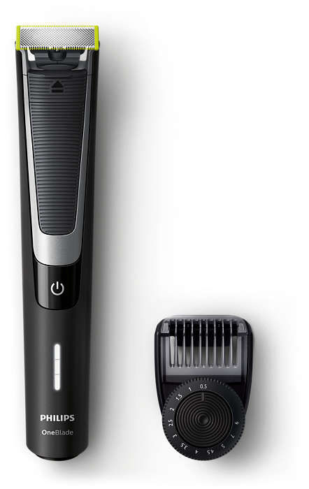 Триммер PHILIPS OneBlade QP6510/20, черный philips hd3197 03