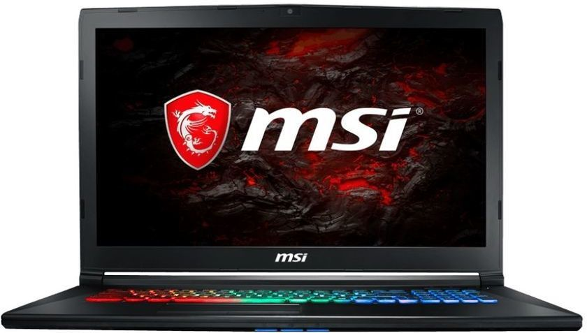 Ноутбук MSI GP72M 7RDX(Leopard)-1017RU, 17.3, Intel Core i7 7700HQ 2.8ГГц, 8Гб, 1000Гб, 128Гб SSD, nVidia GeForce GTX 1050 - 4096 Мб, Windows 10, черный [9s7-1799d3-1017]Ноутбуки<br>экран: 17.3;  разрешение экрана: 1920х1080; процессор: Intel Core i7 7700HQ; частота: 2.8 ГГц (3.8 ГГц, в режиме Turbo); память: 8192 Мб, DDR4; HDD: 1000 Гб, 5400 об/мин; SSD: 128 Гб; nVidia GeForce GTX 1050 - 4096 Мб; WiFi;  Bluetooth; HDMI; WEB-камера; Windows 10<br>