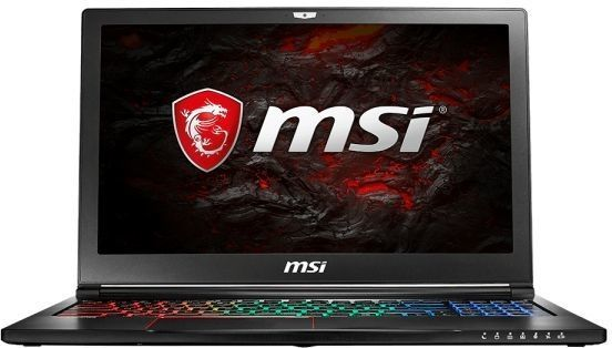 Ноутбук MSI GS63VR 7RF(Stealth Pro)-496RU, 15.6, Intel Core i7 7700HQ 2.8ГГц, 16Гб, 1000Гб, 128Гб SSD, nVidia GeForce GTX 1060 - 6144 Мб, Windows 10, черный [9s7-16k212-496]Ноутбуки<br>экран: 15.6;  разрешение экрана: 1920х1080; процессор: Intel Core i7 7700HQ; частота: 2.8 ГГц (3.8 ГГц, в режиме Turbo); память: 16384 Мб, DDR4; HDD: 1000 Гб, 5400 об/мин; SSD: 128 Гб; nVidia GeForce GTX 1060 - 6144 Мб; WiFi;  Bluetooth; HDMI; WEB-камера; Windows 10<br>