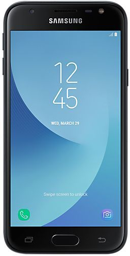 Смартфон SAMSUNG Galaxy J3 (2017) 16Gb, SM-J330F, черный смартфон samsung galaxy j5 2017 16gb sm j530fm ds черный