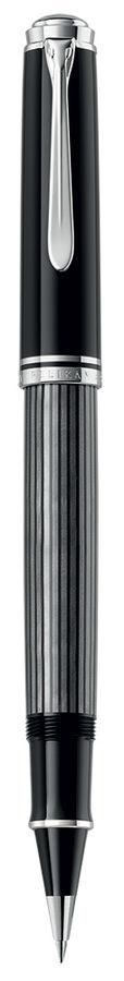 Ручка роллер Pelikan Souveraen Stresemann R 405 (PL803915) антрацитовый M черные чернила подар.кор.