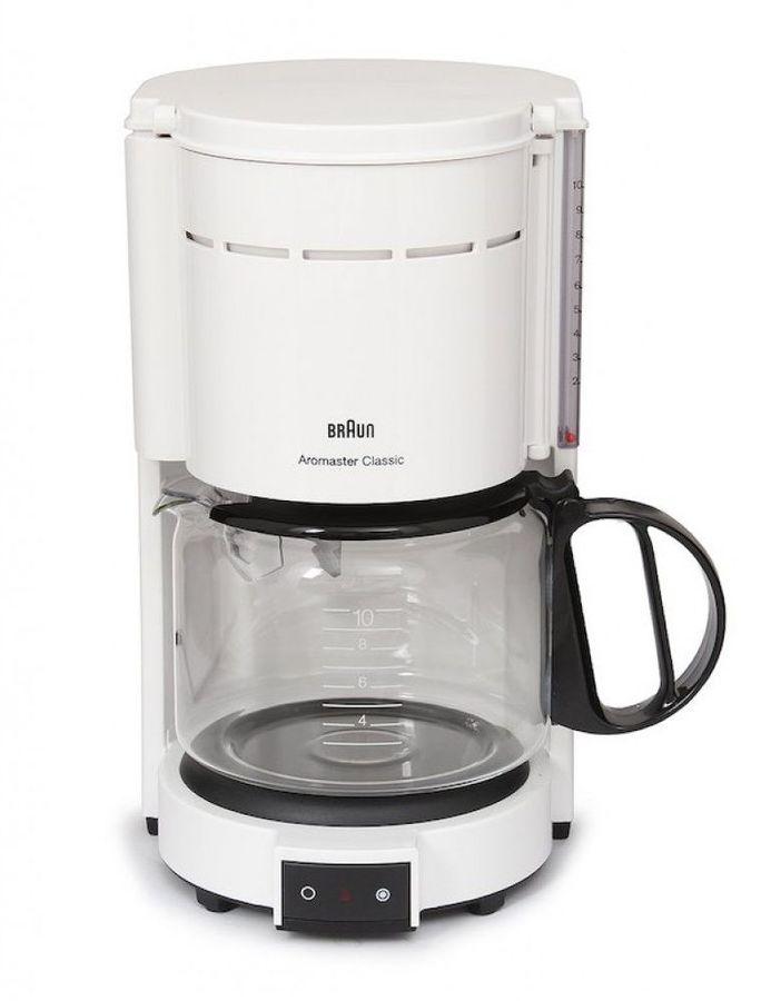 Кофеварка BRAUN KF47/1,  капельная,  белый  [0x13211004]