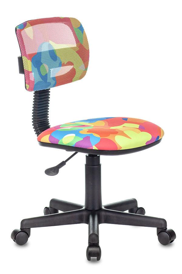 Кресло детское БЮРОКРАТ CH-299, на колесиках, ткань, мультиколор [ch-299/abstract]