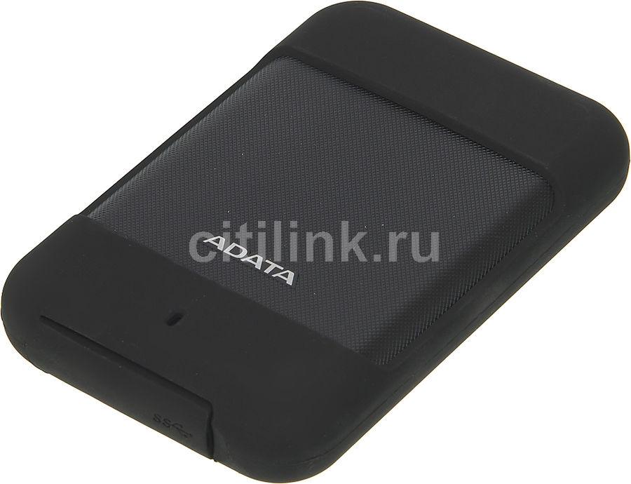 Внешний жесткий диск A-DATA DashDrive Durable HD700, 1Тб, черный [ahd700-1tu3-cbk]