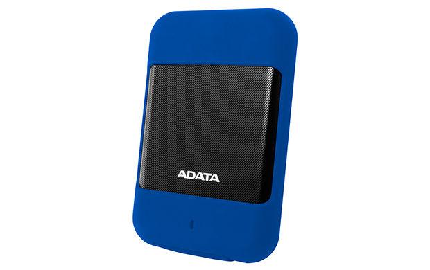 Внешний жесткий диск A-DATA DashDrive Durable HD700, 2Тб, синий [ahd700-2tu3-cbl]