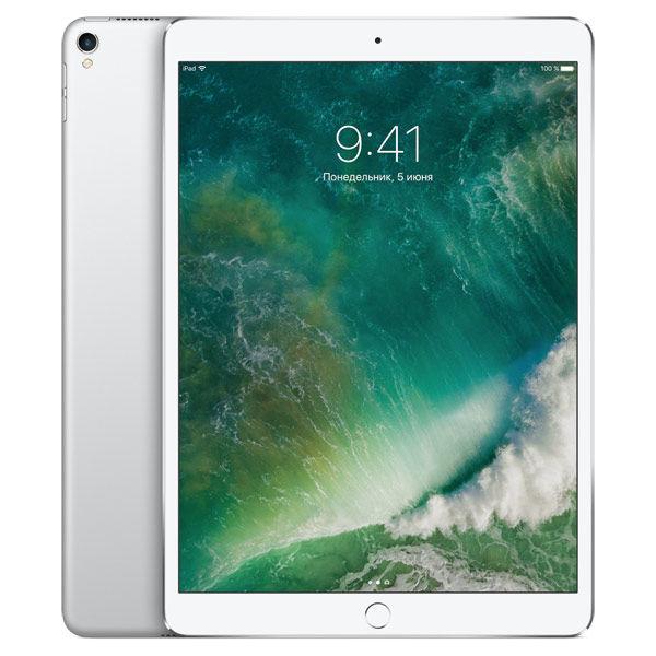 "Планшет APPLE iPad Pro 2017 10.5"" 256Gb Wi-Fi MPF02RU/A,  4GB, 256Гб, iOS серебристый"