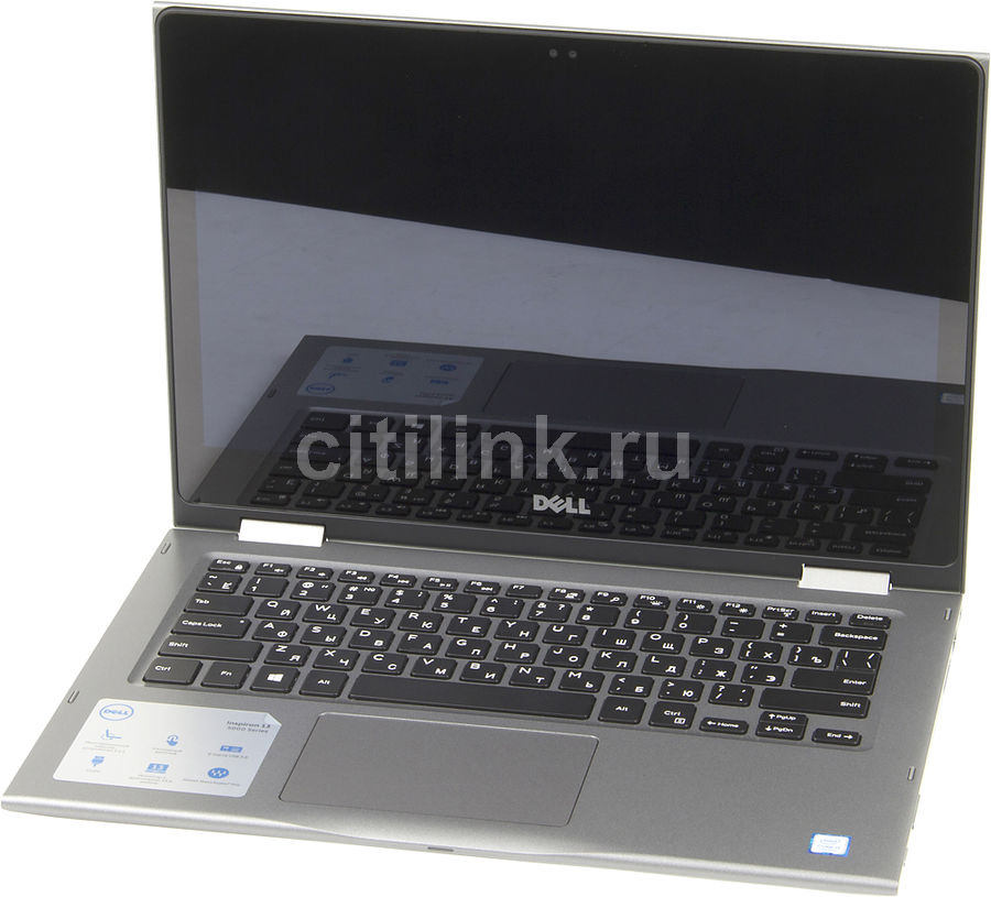 Ноутбук-трансформер DELL Inspiron 5378, 13.3, Intel Core i5 7200U, 2.5ГГц, 8Гб, 256Гб SSD, Intel HD Graphics 620, Windows 10 Home, серый [5378-0384]Ноутбуки<br>экран: 13.3; cенсорный экран; разрешение экрана: 1920х1080; процессор: Intel Core i5 7200U; частота: 2.5 ГГц (3.1 ГГц, в режиме Turbo); память: 8192 Мб, DDR4, 2400 МГц; SSD: 256 Гб; Intel HD Graphics 620; WiFi;  Bluetooth; HDMI; WEB-камера; Windows 10 Home<br><br>Линейка: Inspiron