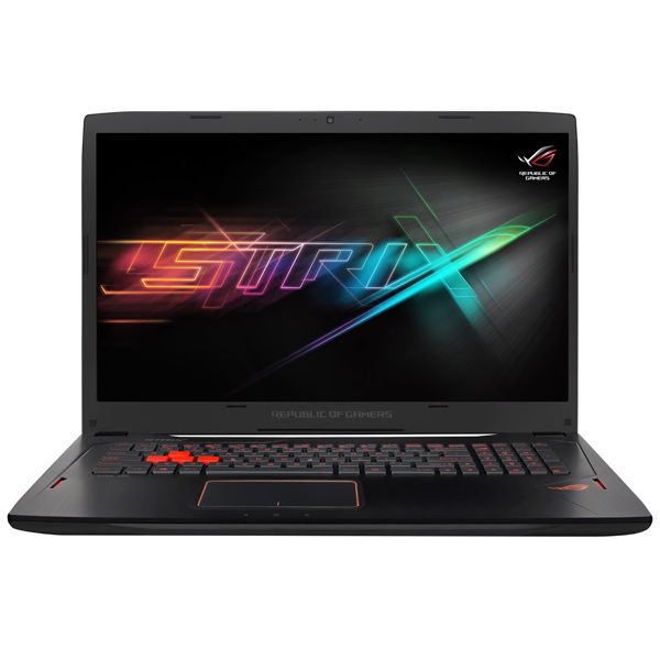 Ноутбук ASUS GL702VM-BA362T, 17.3, Intel Core i7 7700HQ 2.8ГГц, 24Гб, 1000Гб, 256Гб SSD, nVidia GeForce GTX 1060 - 6144 Мб, Windows 10, черный [90nb0dq1-m05080] ноутбук msi gs43vr 7re phantom pro 094ru 14 intel core i5 7300hq 2 5ггц 16гб 1000гб 128гб ssd nvidia geforce gtx 1060 6144 мб windows 10 черный [9s7 14a332 094]