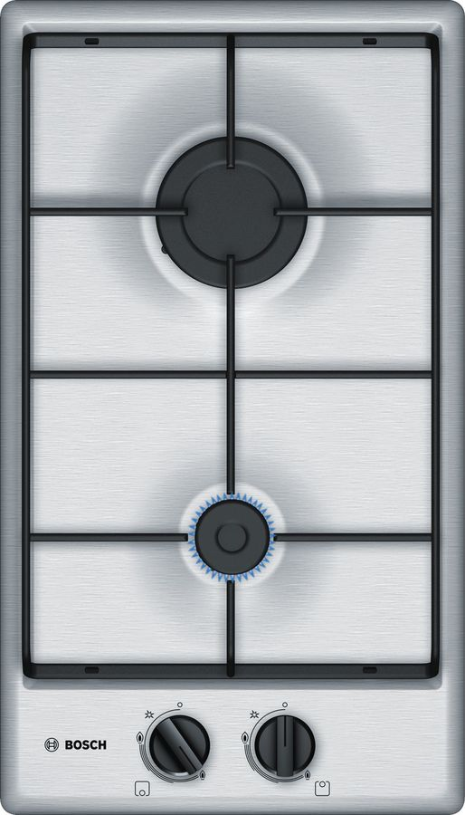 Варочная панель BOSCH PGB3B5B80,  независимая,  нержавеющая сталь
