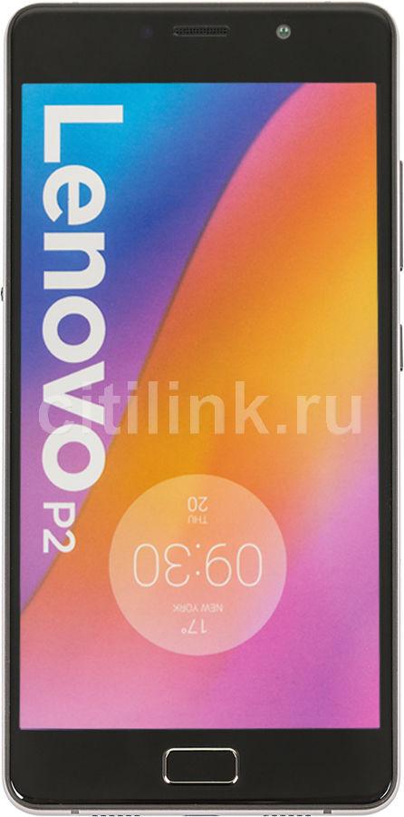 "Смартфон Lenovo P2 P2A42 32Gb серый моноблок 3G 4G 2Sim 5.5"" Super AMOLED 1080x1920 And6.0 13Mp(Б/У)"