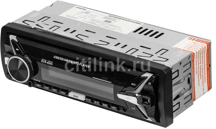 Автомагнитола DIGMA DCR-400G,  USB,  SD/MMC