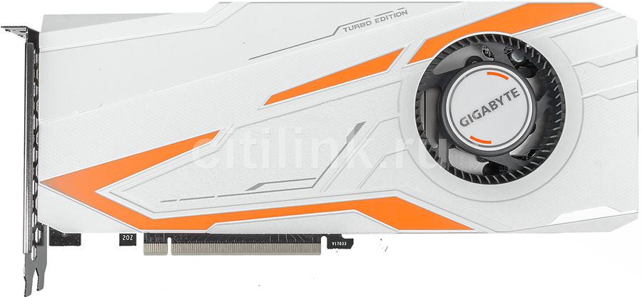 Видеокарта GIGABYTE nVidia  GeForce GTX 1080Ti ,  GV-N108TTURBO-11GD,  11Гб, GDDR5X, OC,  Ret
