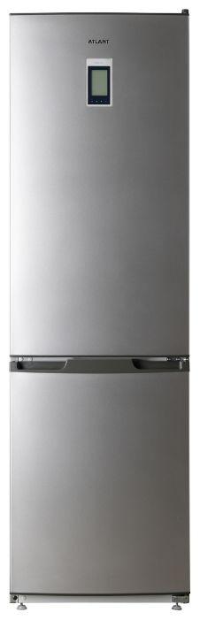 Холодильник АТЛАНТ 4424-089-ND,  двухкамерный, серебристый