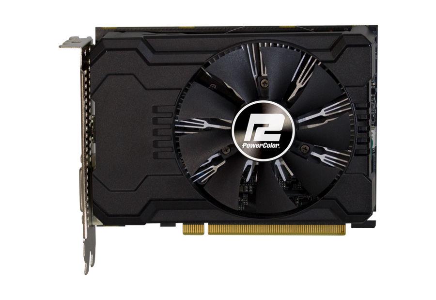 Видеокарта POWERCOLOR AMD  Radeon RX 550 ,  AXRX 550 2GBD5-DHV2/OC,  2Гб, GDDR5, OC,  Ret