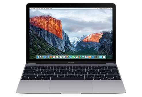 Ноутбук APPLE MacBook MNYG2RU/A, 12, Intel Core i5 7Y54 1.3ГГц, 8Гб, 512Гб SSD, Intel HD Graphics 615, Mac OS X, MNYG2RU/A, серый ноутбук apple macbook air mjvp2ru a 11 6 core i5 1 6ghz 4gb 256gb ssd hd graphics 6000