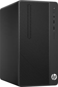 Компьютер  HP 290 G1,  Intel  Core i3  7100,  DDR4 4Гб, 500Гб,  Intel HD Graphics 630,  DVD-RW,  Free DOS,  черный [1qn72ea]