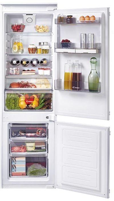 Встраиваемый холодильник CANDY CKBBS 172 FT белый