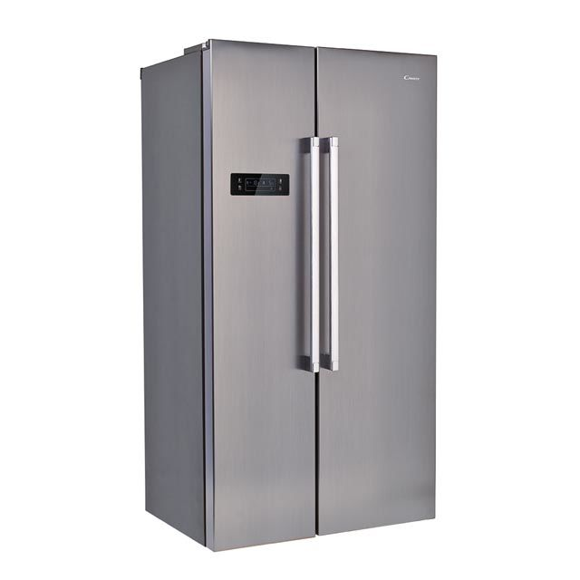 Холодильник CANDY CXSN 171 IXH,  двухкамерный, нержавеющая сталь [34002100]