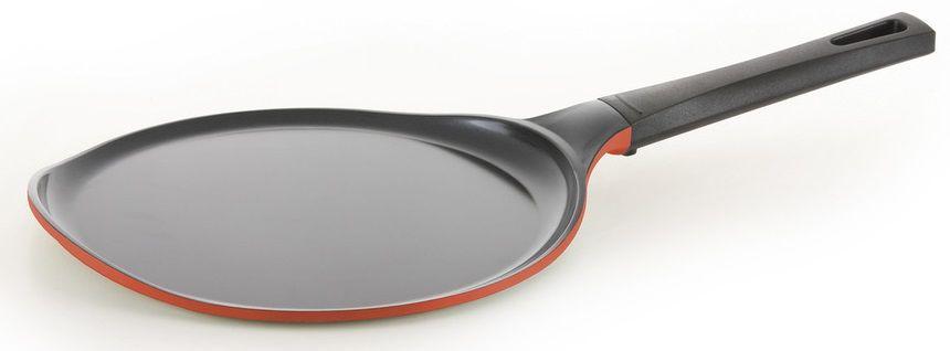 Сковорода блинная FRYBEST Rainbow CM-C26 Rainbow O, 26см, без крышки,  оранжевый