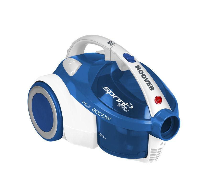 Пылесос HOOVER TSBE 2002 011, 2000Вт, синий/белый